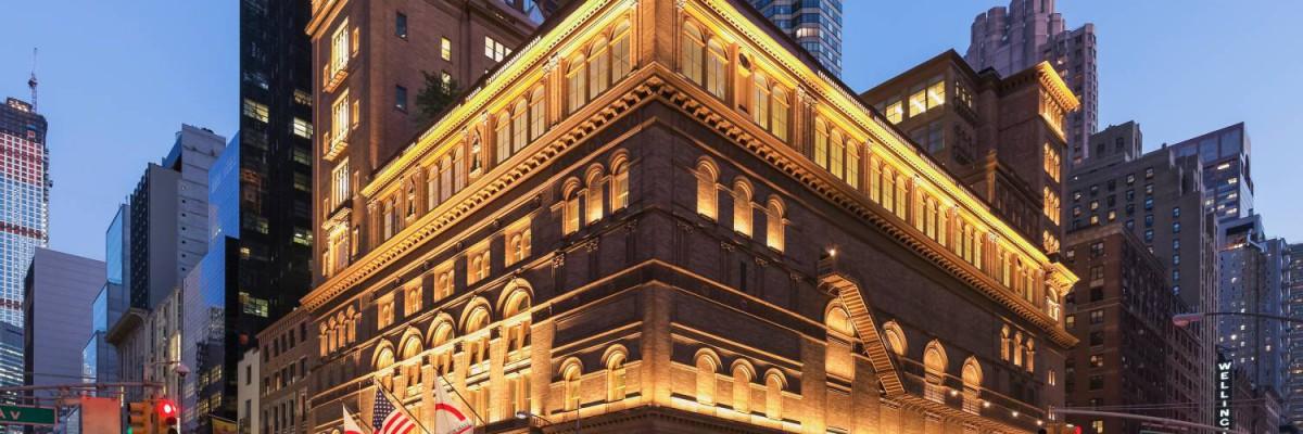 Dennis Russel Davies und das Brucknerorchester auf Tournee - Carnegie Hall | New York